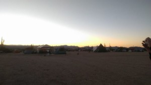 Early Morning Campsite